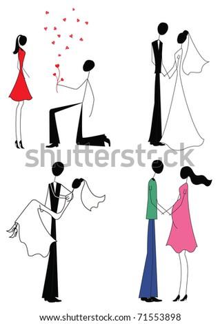 Marry Marriage Bride Bridegroom 104