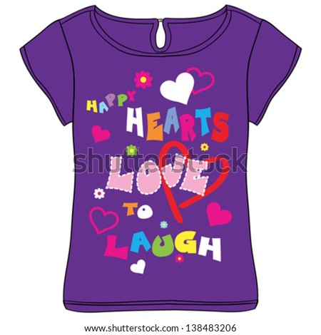love/T-shirt graphics/cute cartoon characters/cute graphics for kids/Book illustrations/textile graphic/graphic designs for kindergarten/cartoon character design/fashion graphic/cute wallpaper - stock vector