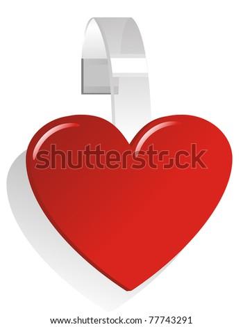 love wobbler - stock vector