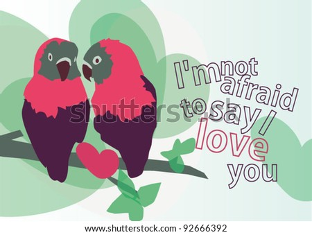 Lovely birds