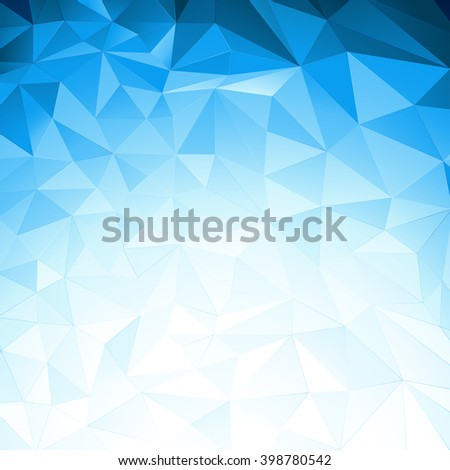Low poly background - stock vector