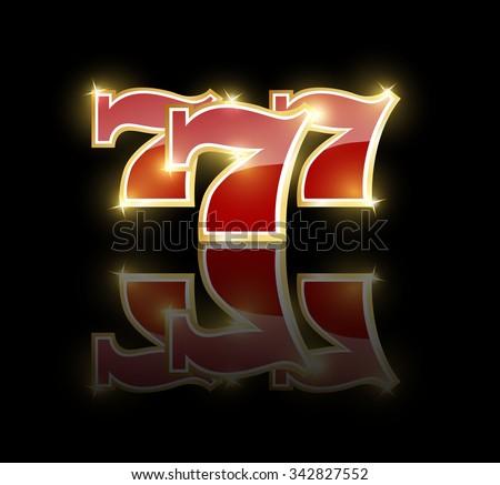 lucky 7 dice vector art backgrounds
