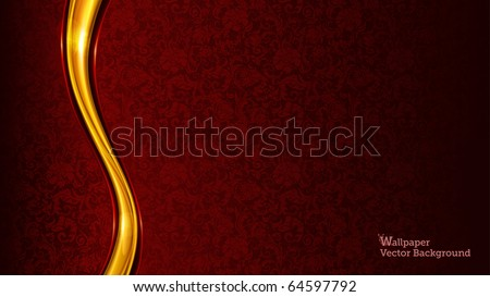 Luxury Background, eps10 - stock vector