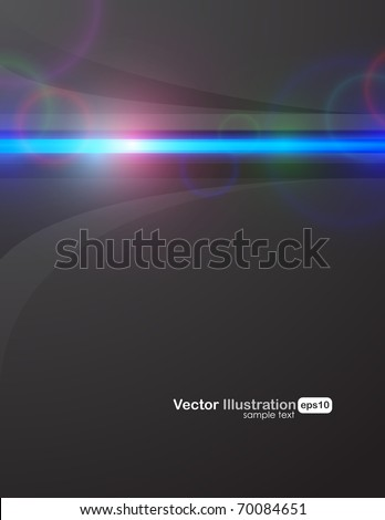 Luxury dark shining background. EPS10. Fully editable illustration. - stock vector