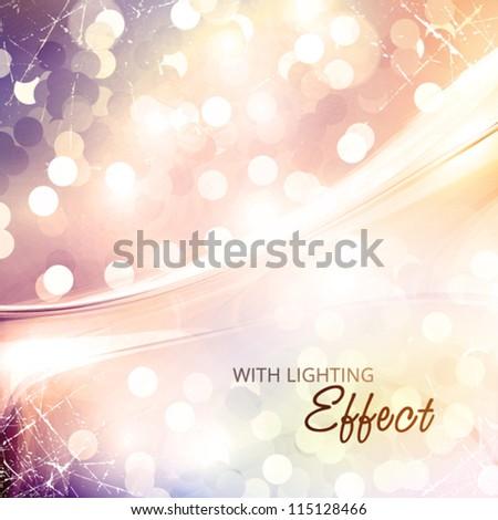 Luxury greeting card. Vector - stock vector