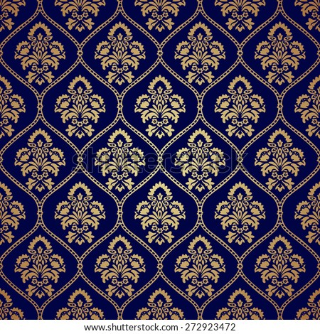 Stock images similar to id 116851075 seamless dark blue for Dark blue and gold wallpaper