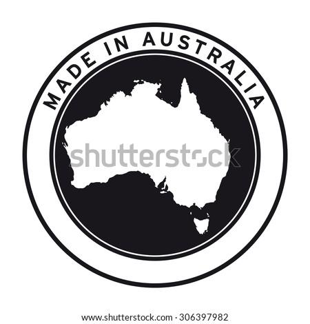 Australian Made Vector Made in Australia Vector Logo