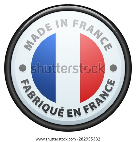 Made In France - stock vector