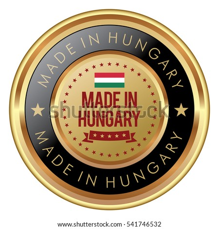 Made in Hungary badge