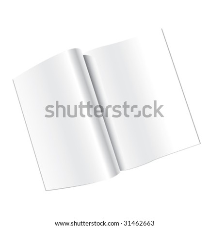 magazine - stock vector
