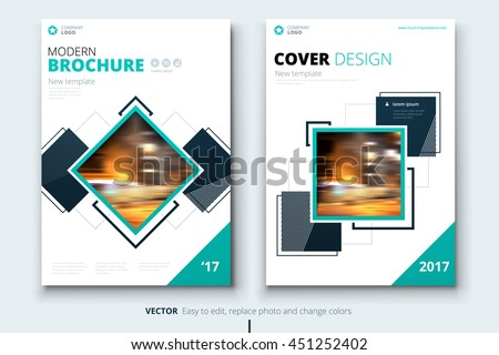 Magazine design corporate business template brochure stock vector magazine design corporate business template for brochure annual report catalog modern layout cheaphphosting Images