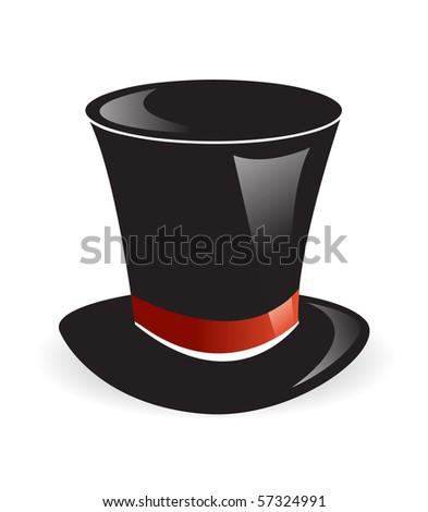 Magic hat vector - stock vector