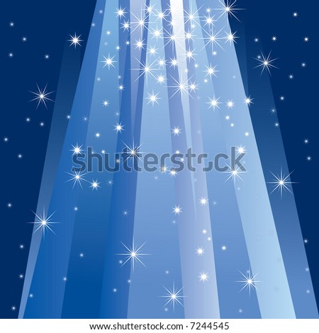 Magic Light (vector). In the gallery also available XXL jpeg image made from this vector - stock vector
