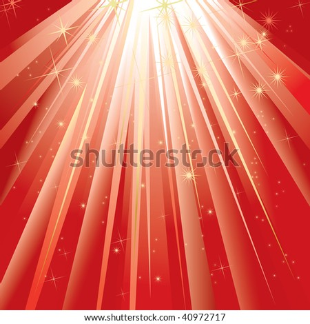 Magic Light (vector). In the gallery also available XXL jpeg version of this image. - stock vector