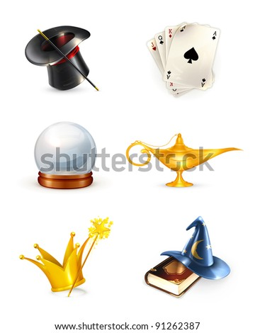 Magic set, 10eps - stock vector