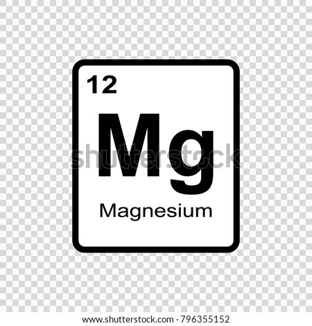 Magnesium chemical element sign atomic number stock vector 796355152 magnesium chemical element sign with atomic number chemical element of periodic table urtaz Gallery