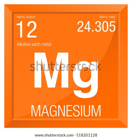 Magnesium symbol element number 12 periodic stock vector royalty magnesium symbol element number 12 of the periodic table of the elements chemistry urtaz Image collections