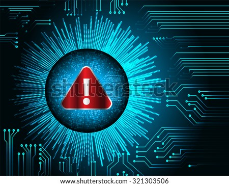 Magnifying Glass scanning and identifying a computer virus. Antivirus protection and computer security concept. PC. vector one zero. scan. technology digital website internet web. vector - stock vector