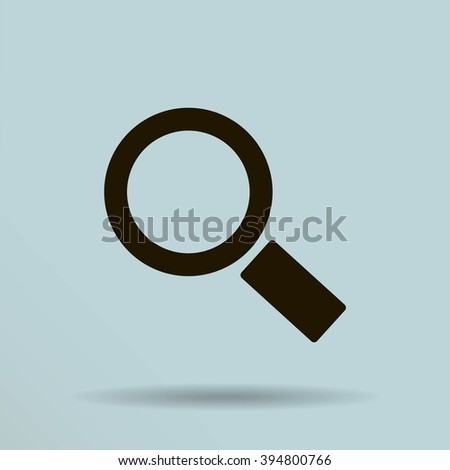 Magnifying glass.Vector illustration