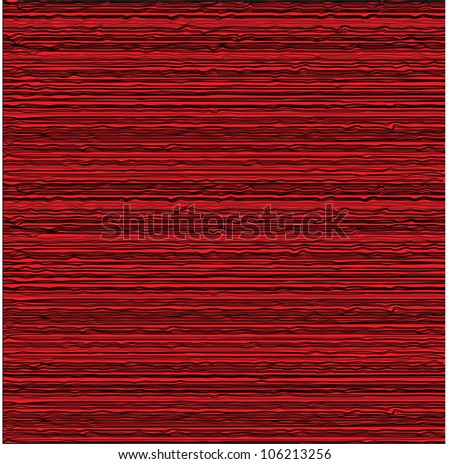 Mahogany Vector art and abstract background texture as seamless wood pattern. - stock vector