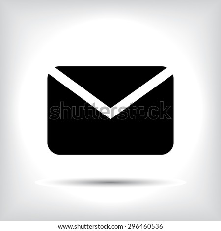 Mail icon. - stock vector