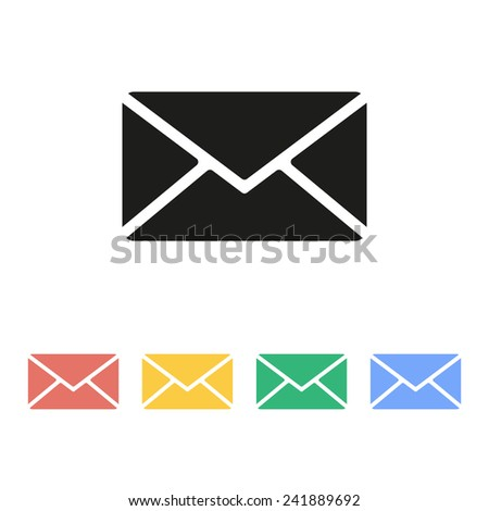 Mail icon. Vector.
