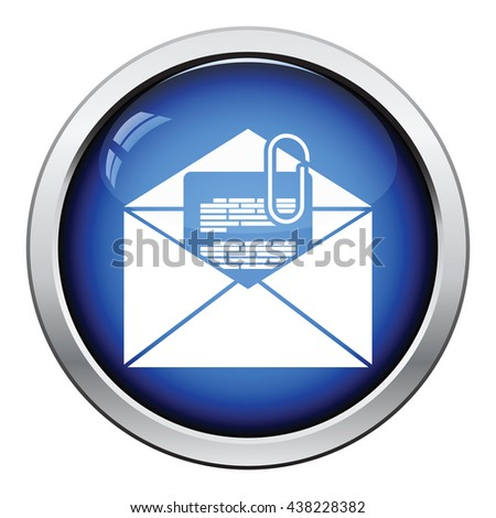 How do you send emails such resumes and term papers using the attachment icon?