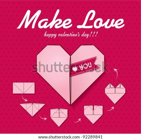 Make Love - stock vector
