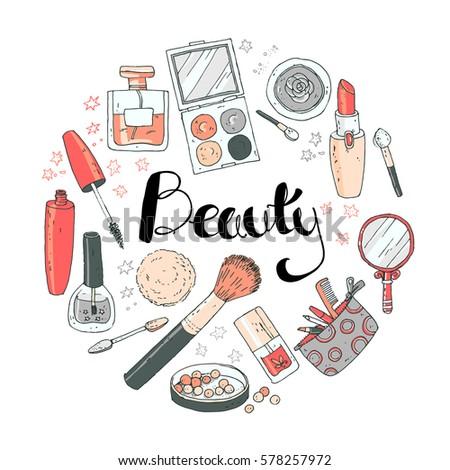 Cosmetics Products Drawing | www.pixshark.com - Images ...