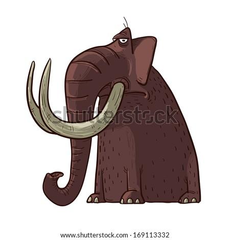 Mammoth - stock vector
