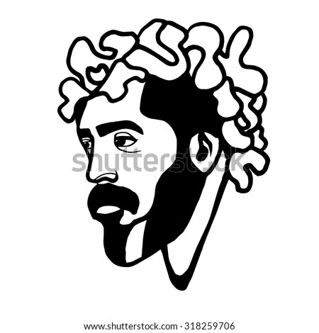 man beard drawing drawings art arts graphic graphic vector vectors abstract abstraction design designs line lines sketch sketches artwork element elements