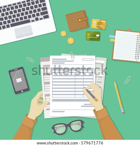 Tax Forms Stock Images RoyaltyFree Images  Vectors  Shutterstock