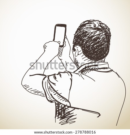 Sketch People Stock Photos, Images, & Pictures | Shutterstock  Sketch People S...