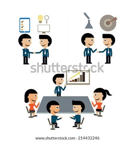 Management - stock vector