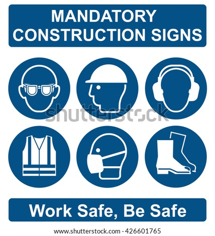 Mandatory Construction Manufacturing Engineering Health Safety Stock