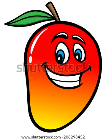 Stock images similar to id 25720645 cartoon mango objects over