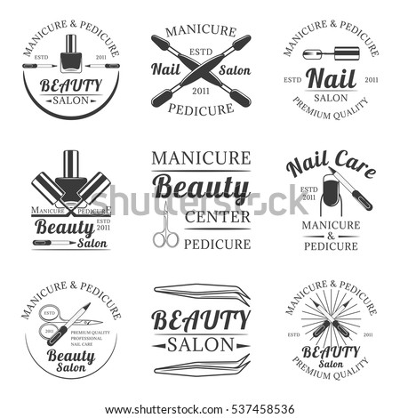 Pedicure Logo Stock Images Royalty Free Images Amp Vectors