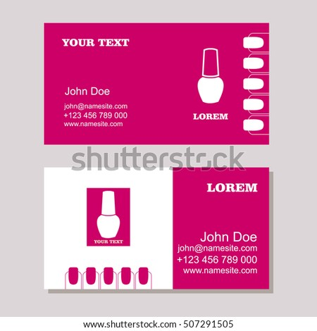 Manicure salon business card design templates stock vector hd manicure salon business card design templates stock vector hd royalty free 507291505 shutterstock cheaphphosting Choice Image