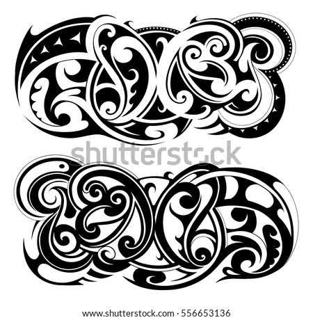 Polynesian Tattoo Stock Images Royalty Free Images Amp Vectors Shutterstock
