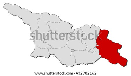 Kacheti Stock Images RoyaltyFree Images Vectors Shutterstock - Georgia kakheti map