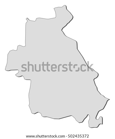 Map Idlib Syria Stock Vector 502435372 Shutterstock