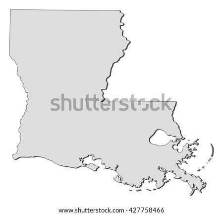 Map - Louisiana (United States)