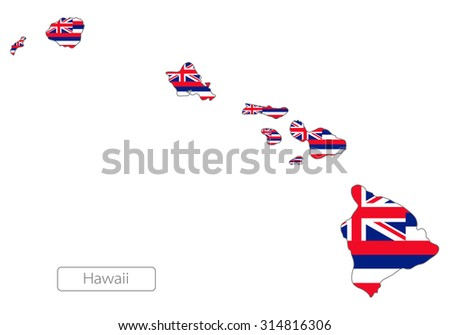 Hawaiian Islands Map Stock Illustrations U0026 Cartoons | Shutterstock