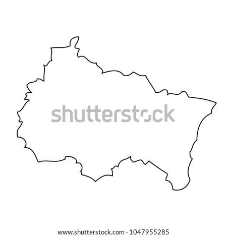 Map Region France Grand Est Vector Stock Vector (Royalty Free ...