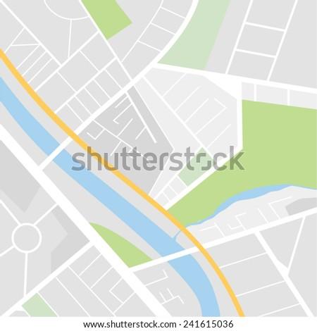 Map vector - stock vector
