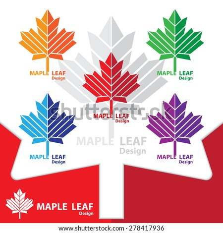 Maple Leaf Logo Stock Photos, Images, & Pictures ...