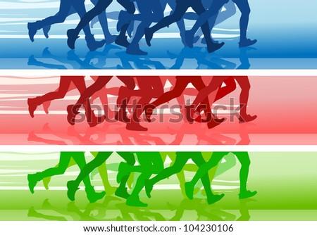 Marathon Logo Vector Stock Vector Marathon