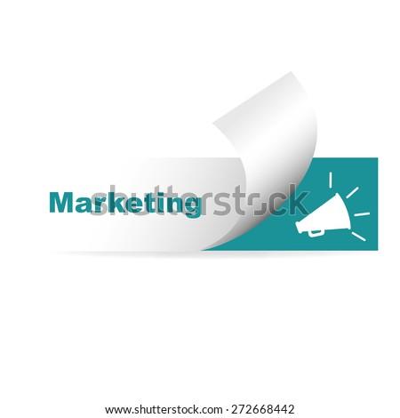 marketing digital, networking - stock vector