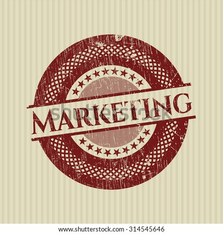 Marketing grunge seal