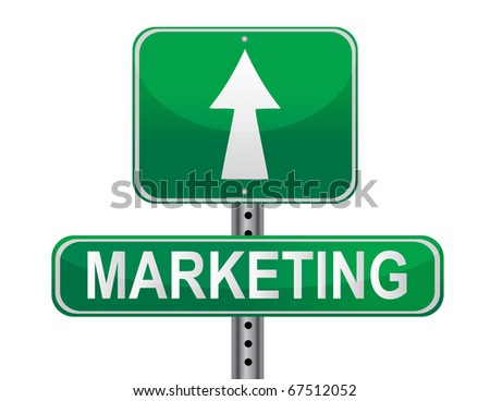 Marketing Strategy sign. - stock vector